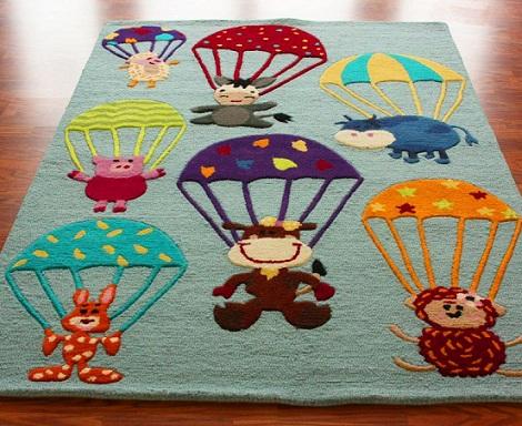 alfombras infantiles originales animales