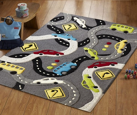 alfombras infantiles originales coches