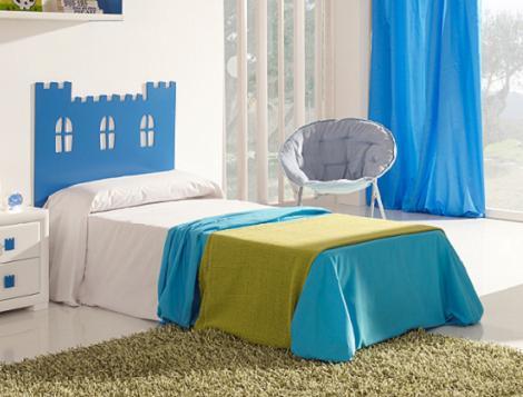 cabeceros originales para camas infantiles