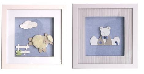 cuadros habitacion infantil oveja
