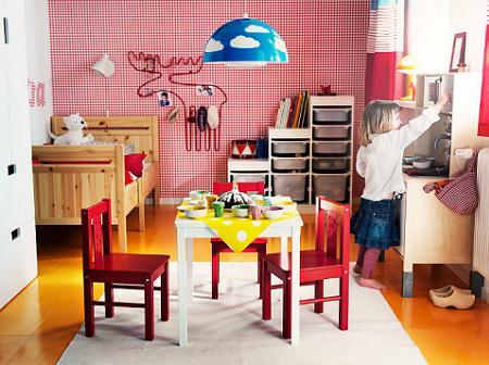 8 habitaciones infantiles de ikea