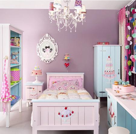 Habitación infantil femenina