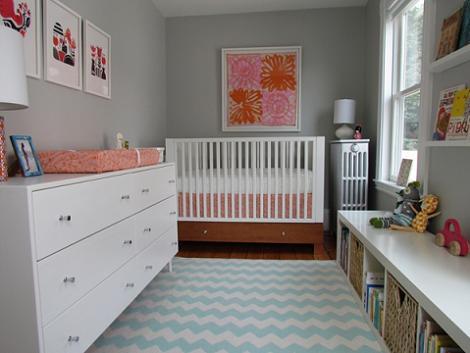 5 habitaciones de beb ni a - Habitacion bebe moderna ...