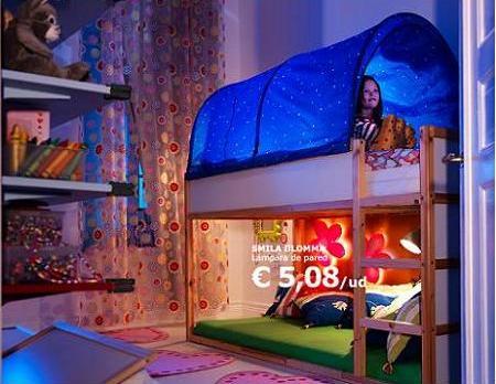 Habitación niñas de Ikea