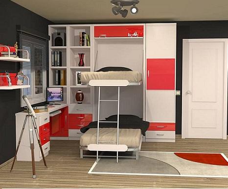 Habitaciones con literas - Habitaciones con literas abatibles ...