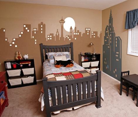 Murales para habitaciones infantiles - Murales en habitaciones ...