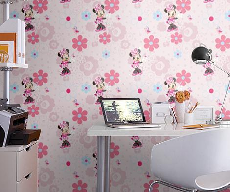 Papel pintado de Minnie Mouse