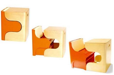 sillas infantiles puzzles