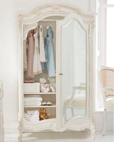 armario infantil clasico espejo