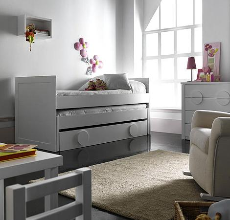 Cama nido triple for Cama nido merkamueble