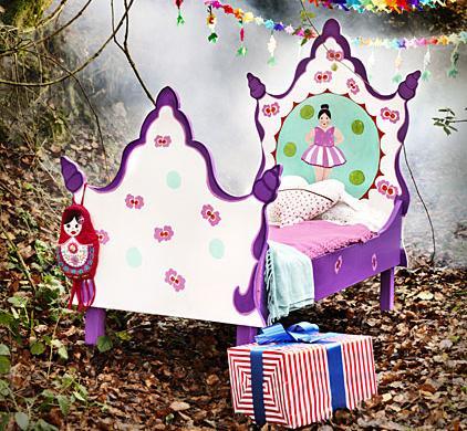 camas infantiles originales bailarina