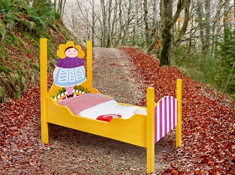 camas infantiles originales campesina