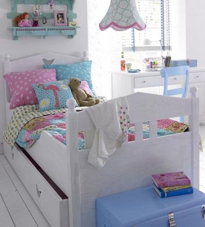 camas princesas blanca
