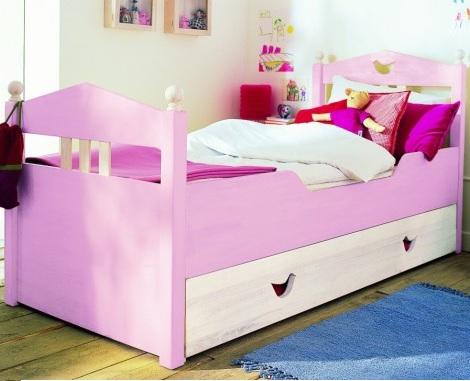 camas princesas rosas