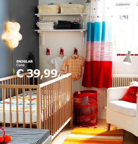 Cunas de ikea para la habitaci n del beb for Habitaciones nina baratas
