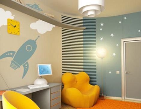 decorar habitacion nino espacio