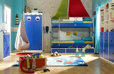 decorar habitacion nino mar