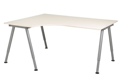 escritorios baratos ikea galant esquinero