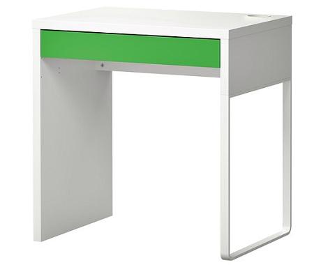 escritorios baratos ikea micke verde