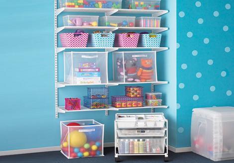 5 ideas para el almacenaje de juguetes - Estanterias para guardar juguetes ...
