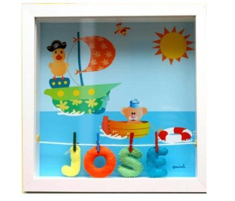 Mi casa decoracion cuadros habitacion bebe - Cuadros habitacion ninos ...