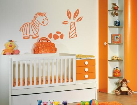 Vinilos decorativos para la habitaci n del beb for Vinilos habitacion nino