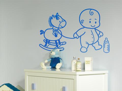 Vinilos decorativos para la habitaci n del beb for Vinilos cuartos bebe