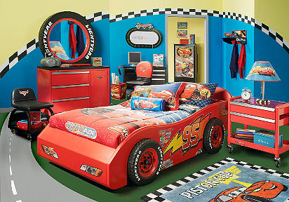 Dormitorio de Cars de Disney
