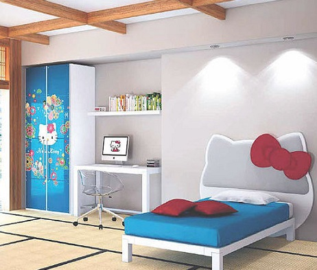 habitacion hello kitty oriental