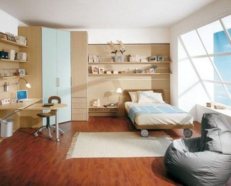 Habitaciones juveniles para chico for Habitacion juvenil nina