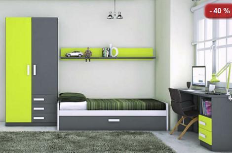Muebles juveniles baratos - Merkamueble habitaciones juveniles ...