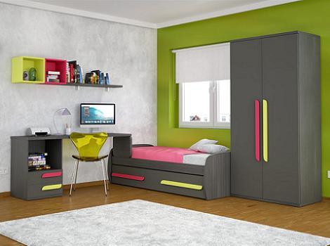 Muebles juveniles baratos - Habitaciones juveniles muebles tuco ...