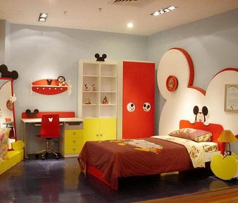 habitacion mickey mouse colores