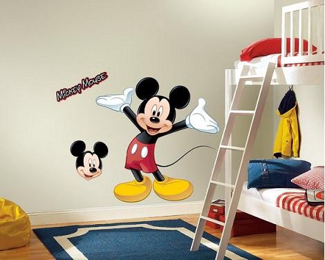 habitacion mickey mouse vinilo