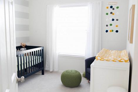 8 habitaciones de beb ni o for Habitacion bebe moderna