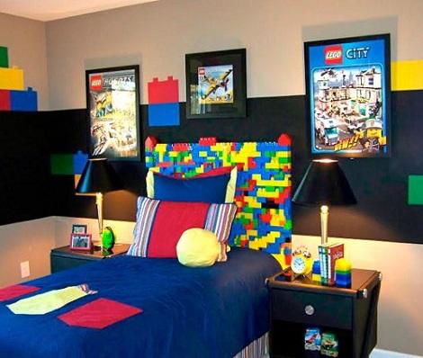 Habitaci n de ni o original for Cuartos de nina de 4 anos