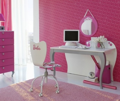 Ideas para decorar una habitaci n de princesa for Silla escritorio nina