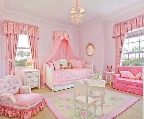 Ideas para decorar una habitación de princesa