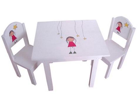 Mesas infantiles originales for Mesa y sillas ninos