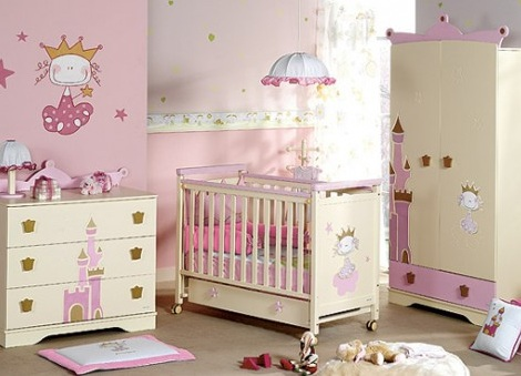 muebles bebe princesa