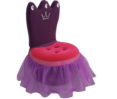 sillas para ninos princesa