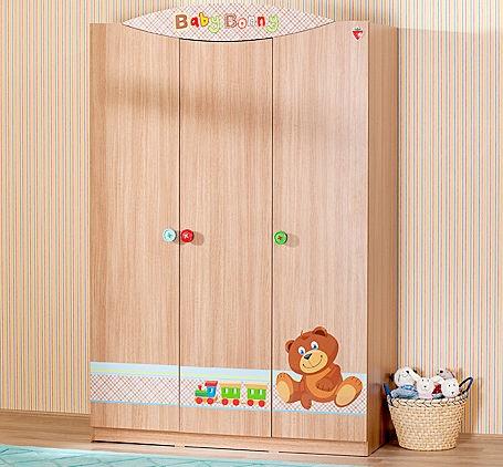 armarios infantiles pino