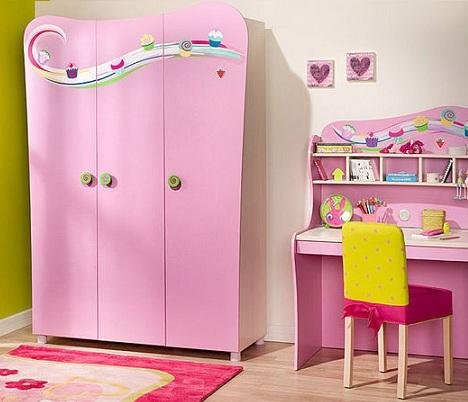 armarios infantiles rosa