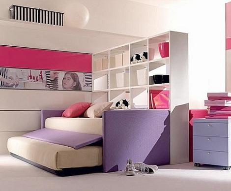 cama nido nina estanteria