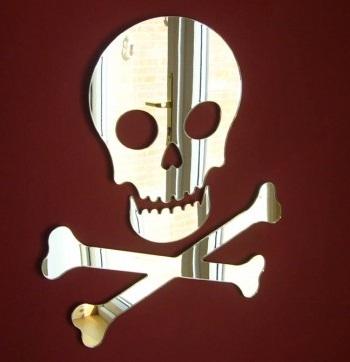 espejos decorativos para ninos pirata