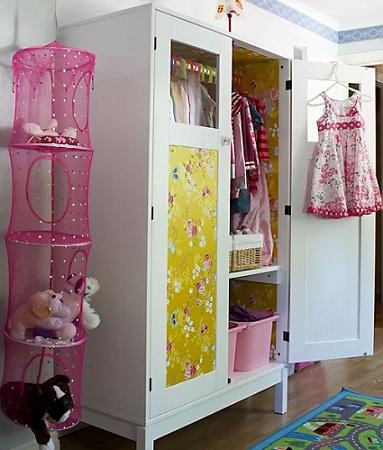 Forrar un armario infantil for Papel para forrar armarios
