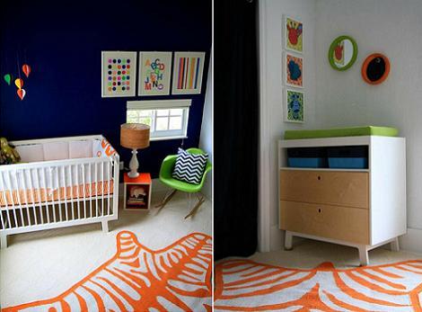 Habitación bebé color