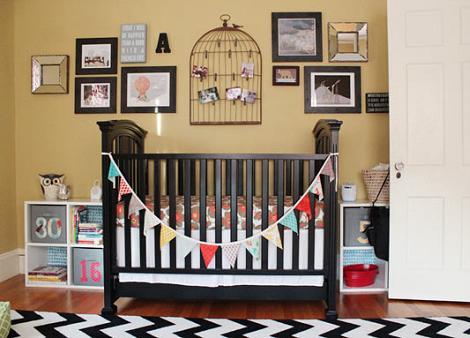 Habitación de bebé original