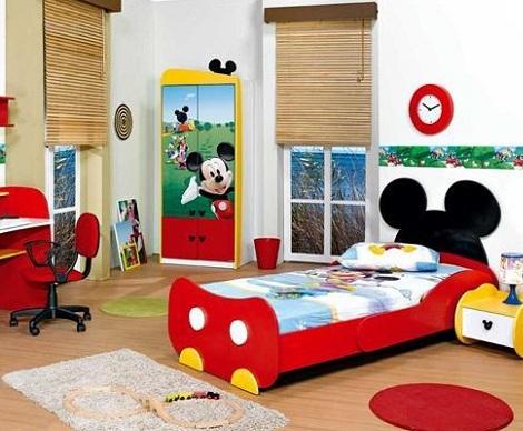 5 habitaciones disney for Habitaciones infantiles disney