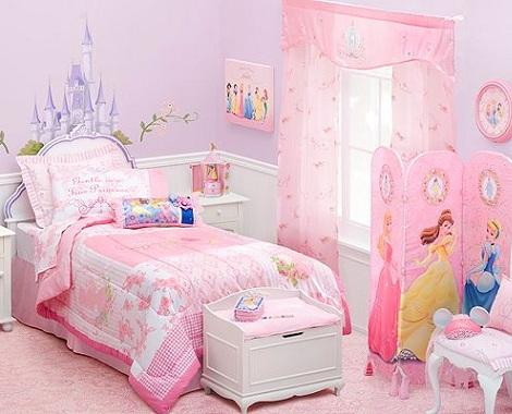 habitacion disney princesas